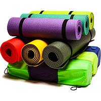 Коврики для фитнеса, йоги, каремат