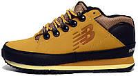 Мужские кроссовки-ботинки New Balance 754 Winter (зимние Нью Беланс 754) желтые