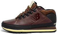 Мужские кроссовки-ботинки New Balance 754 Winter (зимние Нью Беланс 754) коричневые