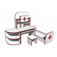 """Стенка игровая 18 """"Поликлиника"""". Мебель для школы. Мебель для детского сада"""