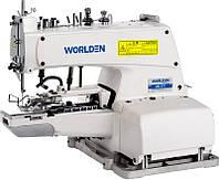 Пуговичный полуавтомат однониточного цепного стежка WORLDEN WD-373