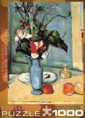 Пазлы картины художников 'Голубая ваза' Поль Сезанн  Eurographics 6000-3802