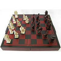 Шахматы антик (44х24х5 см)