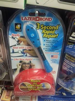 Жидкая смола Lazer Bond 3 seconds Rapid Repair, которая создает прочную связь практически с любой поверхностью, фото 3