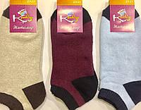 """Носки женские зимние укороченные ТМ """"Крокус"""" размер 23-25, ассорти"""