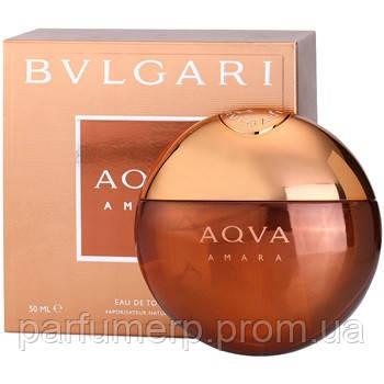 Bvlgari Aqua Amara (50мл), Мужская Туалетная вода  - Оригинал!