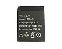Аккумулятор для смарт-часов UWatch A1/DZ09/GT08/X6, фото 1