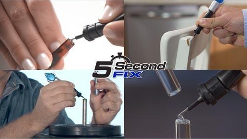 Жидкий фиксатор горячий клей 5 Second Fix