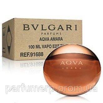 Bvlgari Aqua Amara (100мл), Мужская Туалетная вода Тестер - Оригинал!