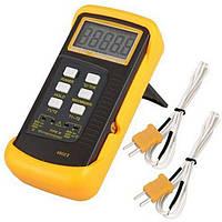 Двухканальный термометр-термостат