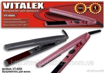 Выпрямитель для волос черный VITALEX (Арт. VT-4004), фото 2