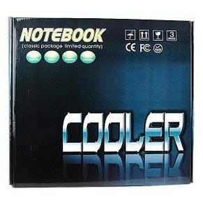 Охлаждающая подставка-кулер для ноутбука Notebook Cooler USB, фото 2