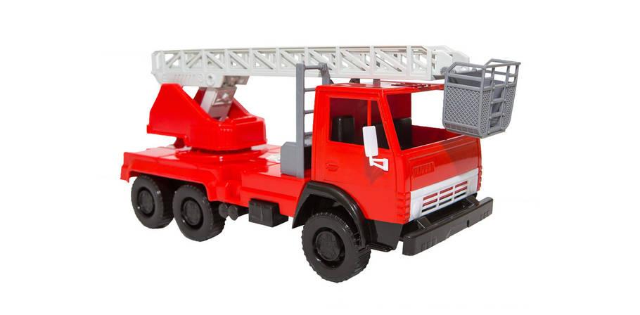 Пожарная детская машина Х1 22х10х12 см, фото 2