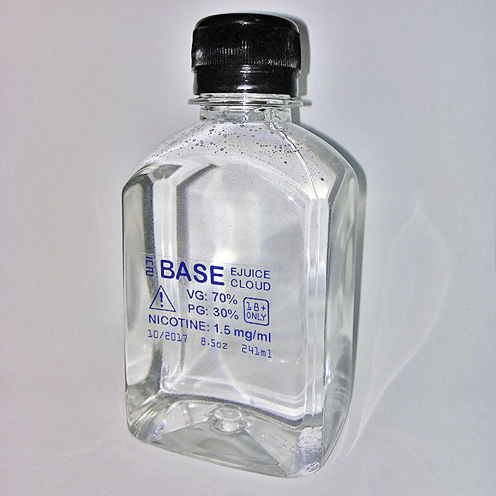 BASE VG 65% / PG 35% NIC 1.5 mg/ml (БАЗА 241 мл - 8.5oz)