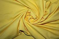 Ткань Французский трикотаж Желтый