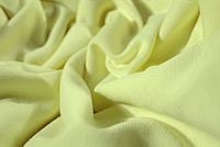 Ткань Французский трикотаж Бледно Желтый