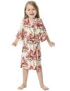Детские халаты и пижамы для девочек оптом
