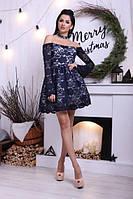 Платье / набивной гипюр / Украина, фото 1