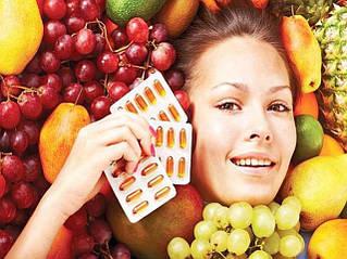 Натуральные витамины для красоты (кожа, волосы, ногти)