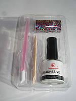 Набор для дизайна ногтей, клей, фольга, апельсиновая палочка, маникюрная палочка с резинкой