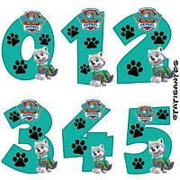 Цифры 38 вафельные картинки