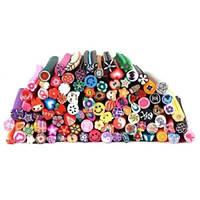 Фимо - штанги для оформления ногтей 100 шт. / Штанги для дизайна ногтей