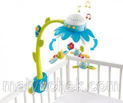 Музыкальный мобиль Smoby Цветок Голубой (110110N)