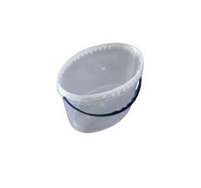 Ведро 11 л. пластиковое для пищевых продуктов код 11000V, фото 2