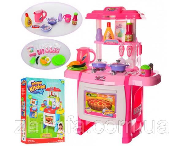 Детская кухня Interest kitchen WD-A22 со звуком и светом!