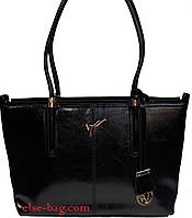 Каркасная женская сумка с украшением
