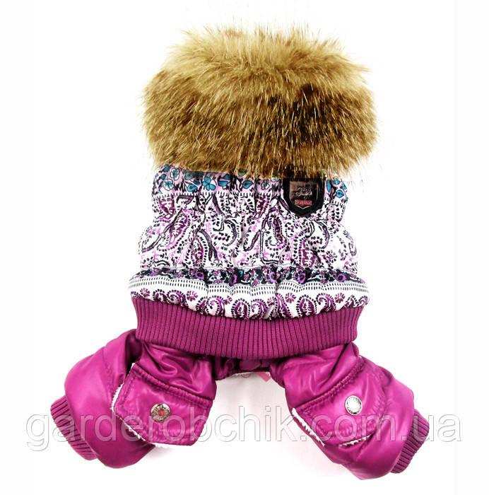 "Комбинезон зимний, костюм ""Аляска"" для собаки. Одежда для собак"