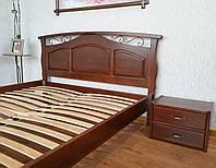 """Спинка кровати """"Марго"""". Массив - сосна, ольха, береза, дуб."""