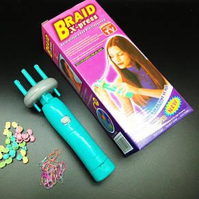 Машинка аппарат для плетения косичек Braid X-press, фото 2