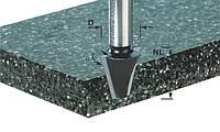 Фрезы для снятия фаски с нижней режущей кромкой для обработки минерала и акрила
