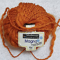 Пряжа Magna Schachenmayr Nomotta Германия, разные цвета, оранжевый