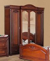 Деревянные шкафы спальни Элизабет