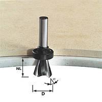 Фреза для снятия фаски с верхним опорным подшипником HW D28 /15°SS S12 Festool 492703, фото 1