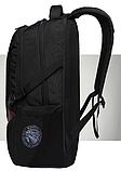 """Рюкзак чорний в швейцарському стилі великий 17"""" Swrgtaiti з кодовим замком, фото 3"""