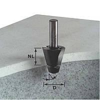 Фрезы для снятия фасок с опорным подшипником для обработки минерала и акрила