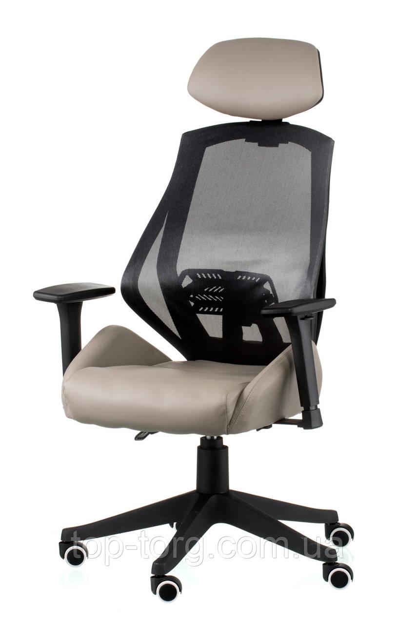 Кресло офисное Alto grey, цвет серый