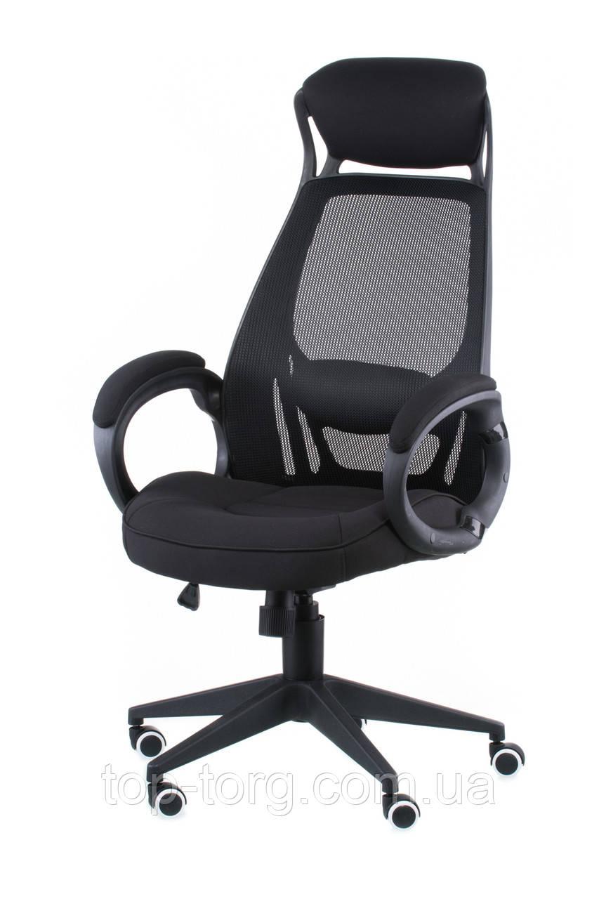 Кресло офисное Briz black fabric, цвет черный