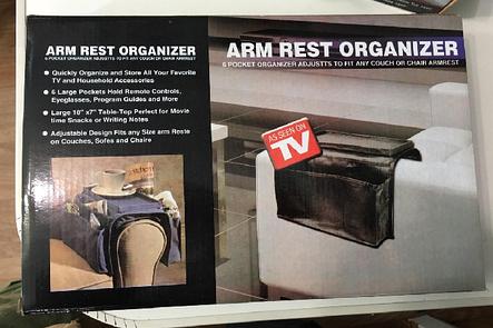 Органайзер Arm rest organizer ВСЁ ПОД РУКОЙ код 3255 АКБ, фото 2