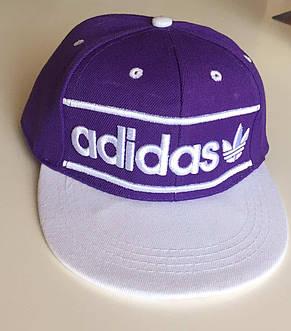 Бейсбольная кепка Adidas с логотипом (Прямой козырек), фото 2