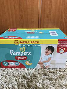 Трусики Pampers Pants 5 Junior 96 шт. (11 - 18 кг.)  Universal (Unisex)