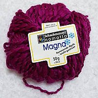 Пряжа для вязания шерсть акрил цвета фуксия