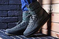 Зимние  ботинки Nike Lunar Force V - Полиуретан + текстиль ,подошва резина,утеплены паролоном,  р-ры 40-44