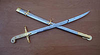 Индо-Иранский шемшир (подарок, сувенир) сабля, нож, фото 1