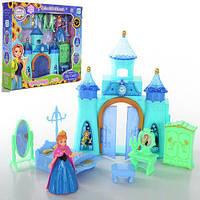 Домик для кукол, кукольный замок Frozen, принцессы, мебель, фигурка, в коробке СКЛАД