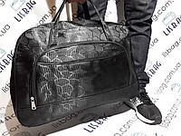 Большая дорожная сумка черная  38 литров