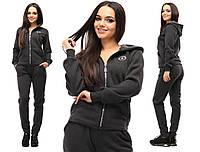 Женский спортивный костюм теплый на флисе зимний размеры 42-46 Женская одежда оптом
